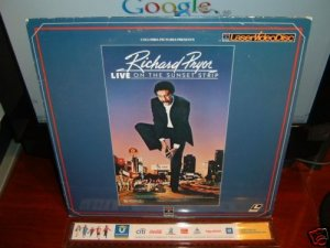 Laserdisc RICHARD PRYOR LIVE ON THE SUNSET STRIP 1982 Stand Up Comedy FS LD