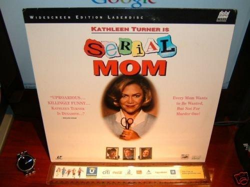 Laserdisc SERIAL MOM 1994 Kathleen Turner LTBX LD