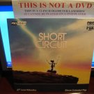 Laserdisc SHORT CIRCUIT 1986 Ally Sheedy FS SEALED UNOPENED LD