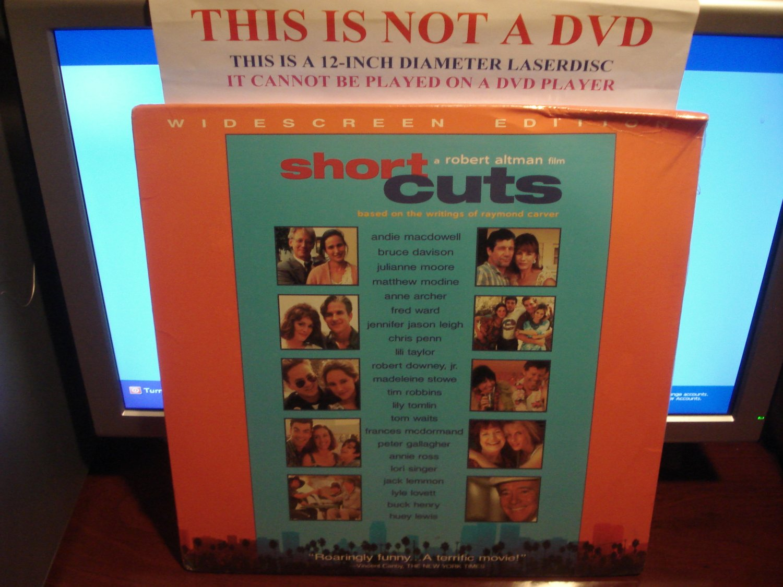 Laserdisc SHORT CUTS 1993 Andie MacDowell LTBX SEALED UNOPENED LD