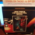 Laserdisc STAR TREK III: THE SEARCH FOR SPOCK 1984 William Shatner Lot#3 LTBX LD