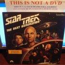 Laserdisc STAR TREK THE NEXT GENERATION TNG ENCOUNTER AT FARPOINT PILOT EPISODE 1&2 1987 LD
