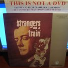 Laserdisc STRANGERS ON A TRAIN 1951 Alfred Hitchcock Lot#2 FS LD