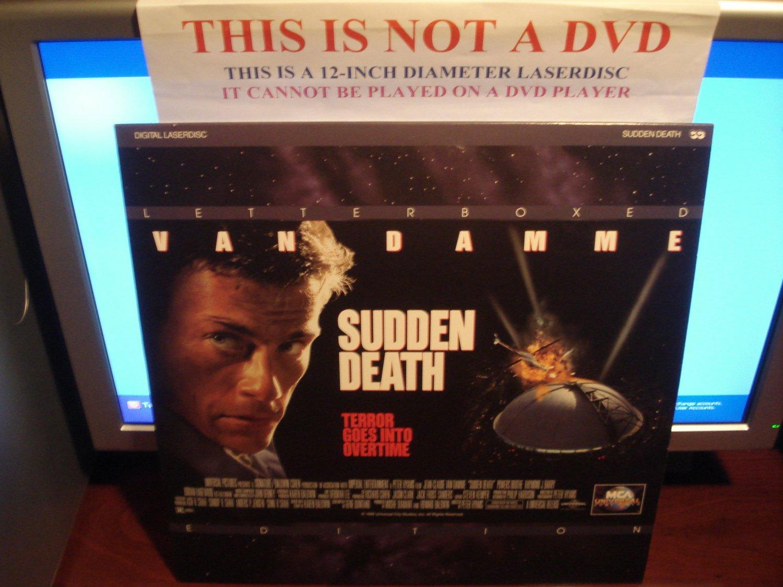 Laserdisc SUDDEN DEATH 1995 Jean-Claude Van Damme Lot#5 LTBX LD