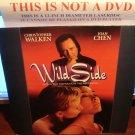 Laserdisc WILD SIDE 1995 Christopher Walken FS LD