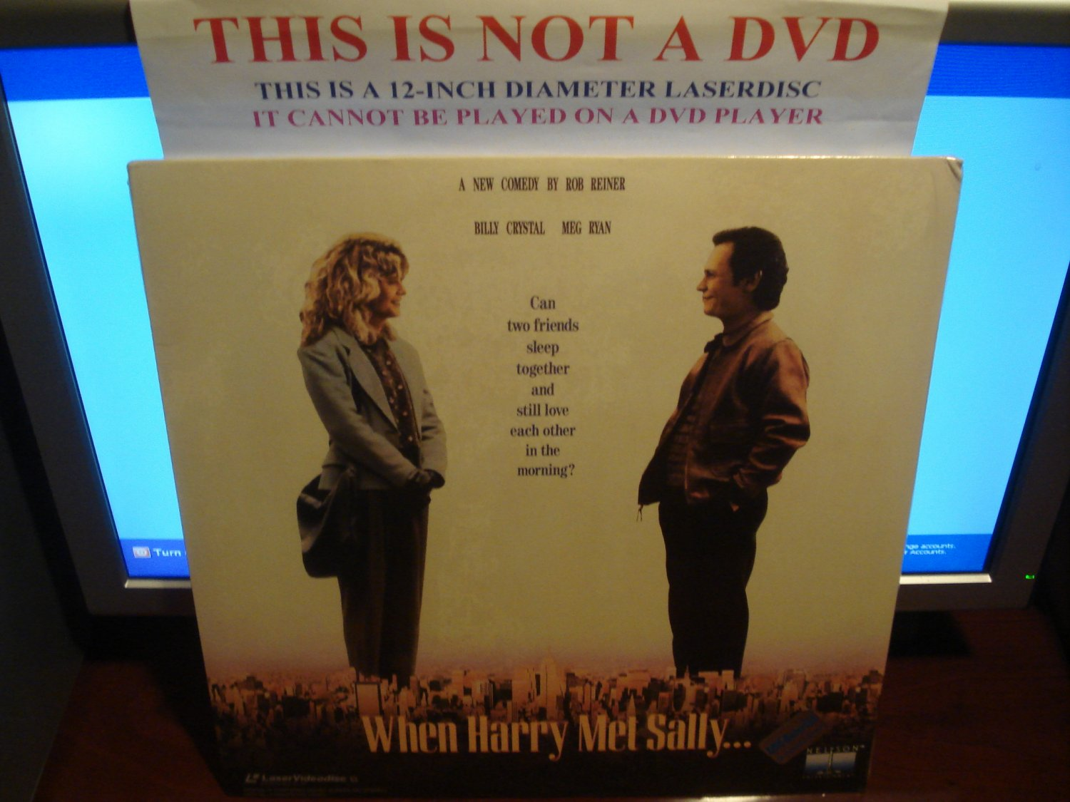 Laserdisc WHEN HARRY MET SALLY 1989 Billy Crystal Lot#6 FS SEALED UNOPENED LD