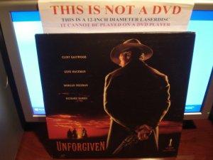Laserdisc UNFORGIVEN 1992 Clint Eastwood Lot#3 LTBX LD