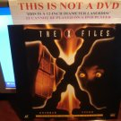 Laserdisc THE X FILES: SQUEEZE / TOOMS 1993/94 Gillian Anderson Lot#1 FS Sci-Fi LD