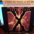 Laserdisc THE X FILES: PILOT / DEEP THROAT 1993/96 Gillian Anderson Lot#2 FS Sci-Fi LD