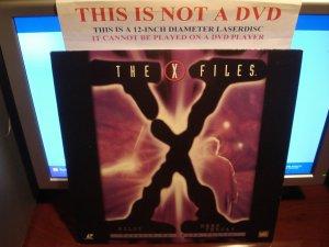 Laserdisc THE X FILES: PILOT / DEEP THROAT 1993/96 Gillian Anderson Lot#2 FS Sci-Fi LD