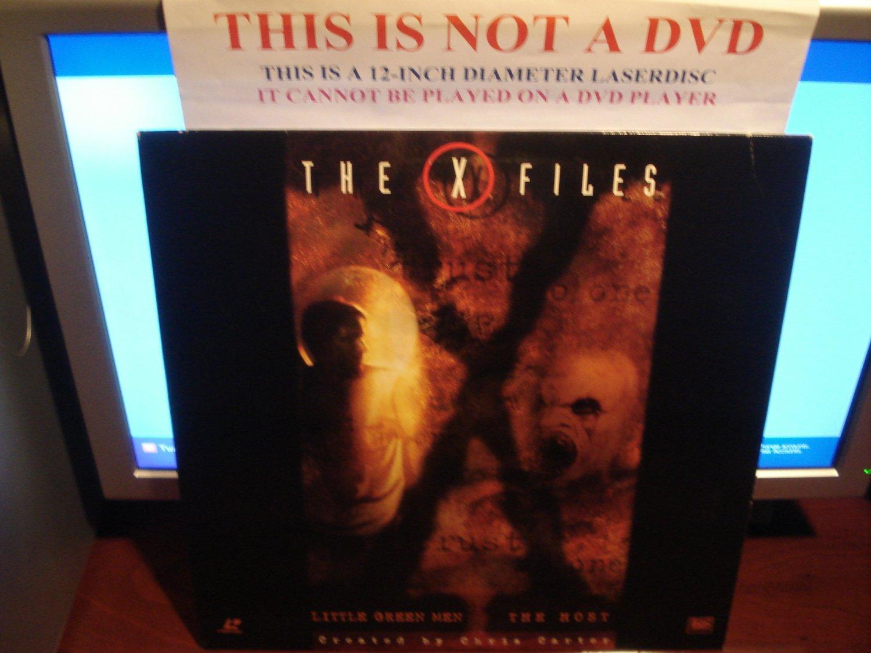 Laserdisc THE X FILES: LITTLE GREEN MEN / THE HOST 1994/97 Gillian Anderson Lot#2 FS Sci-Fi LD