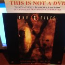 Laserdisc THE X FILES: LITTLE GREEN MEN / THE HOST 1994/97 Gillian Anderson Lot#1 FS Sci-Fi LD