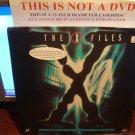 Laserdisc THE X FILES: FALLEN ANGEL / EVE 1994/96 Gillian Anderson Lot#2 FS SEALED Sci-Fi LD