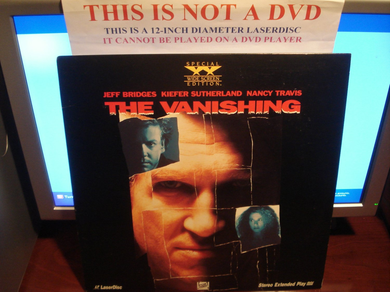Laserdisc THE VANISHING 1993 Jeff Bridges Lot#2 SWE LD