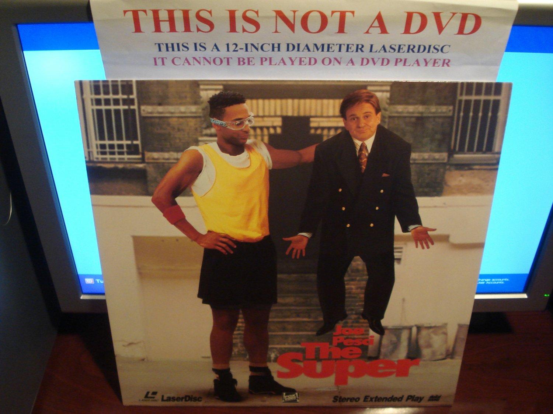 Laserdisc THE SUPER 1991 Joe Pesci Vincent Gardenia FS Comedy LD