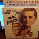 Laserdisc THE BAD AND THE BEAUTIFUL (1952) Kirk Douglas FS ClassicLD
