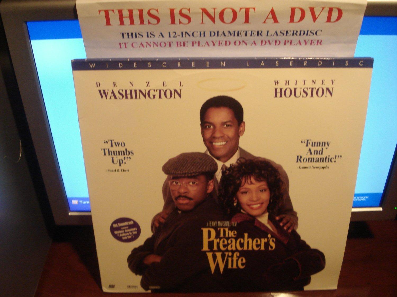 Laserdisc THE PREACHER'S WIFE 1996 Whitney Houston Denzel Washington Lot#3 LTBX AC-3 LD
