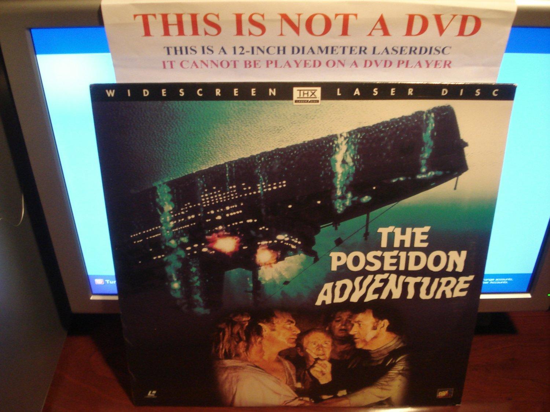 Laserdisc THE POSEIDON ADVENTURE (1972) Gene Hackman Lot#4 LTBX SEALED UNOPENED LD