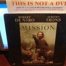 Laserdisc THE MISSION 1986 Robert DeNiro Lot#3 LTBX SEALED UNOPENED LD