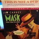Laserdisc THE MASK 1994 Jim Carey Lot#2 LTBX THX LD