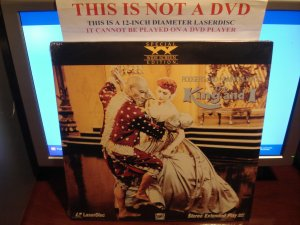 Laserdisc THE KING AND I (1956) Roger and Hammerstein's Lot#3 SWE SEALED UNOPENED Classic LD