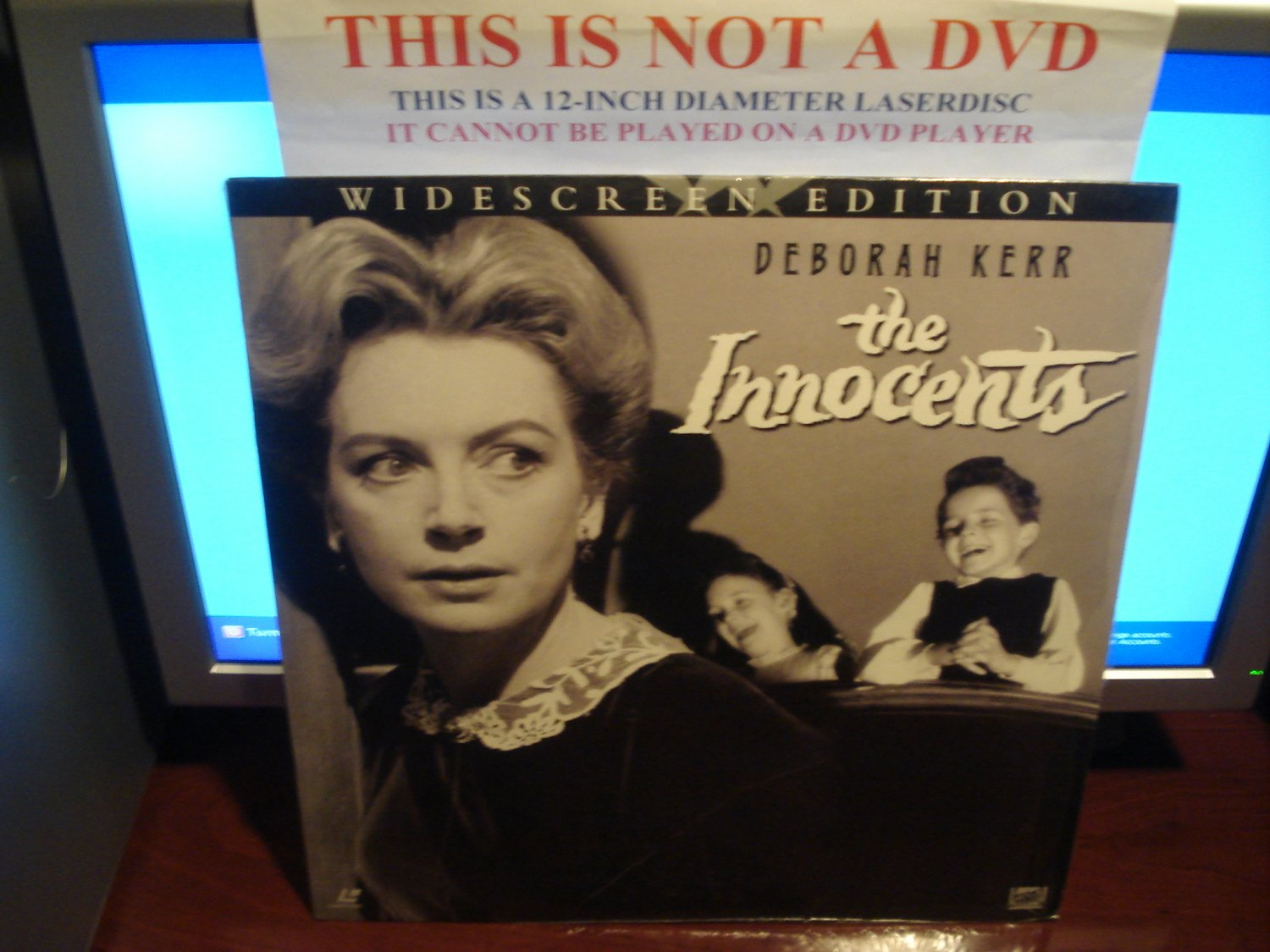 Laserdisc THE INNOCENTS (1961) Deborah Kerr LTBX Classic B/W Horror LD