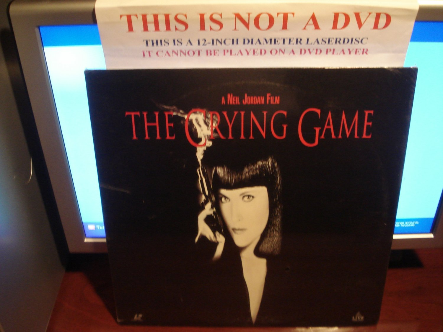 Laserdisc THE CRYING GAME 1992 Stephen Rea Lot#5 FS SEALED UNOPENED LD