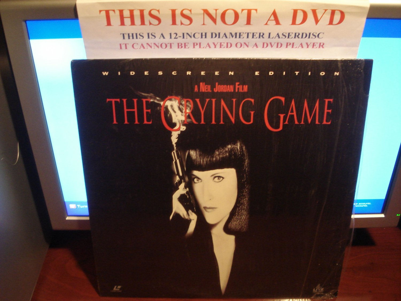 Laserdisc THE CRYING GAME 1992 Neil Jordan Lot#3 FS LD