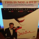 Laserdisc SABRINA 1995 Harrison Ford Julia Ormond Lot#7 LTBX LD