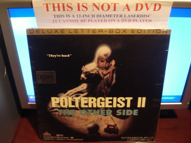 Laserdisc POLTERGEIST II: THE OTHER SIDE 1986 Jobeth Williams DLX LTBX Horror LD