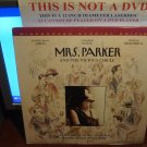 Laserdisc MRS. PARKER AND THE VISCOUS CIRCLE 1994 Jennifer Jason Leigh LTBX LD