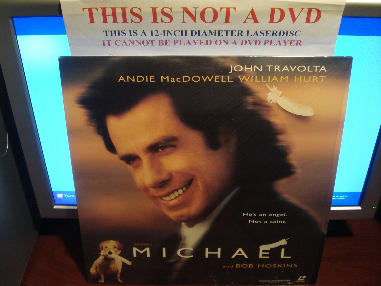 Laserdisc MICHAEL 1996 John Travolta Andie MacDowell LTBX LD