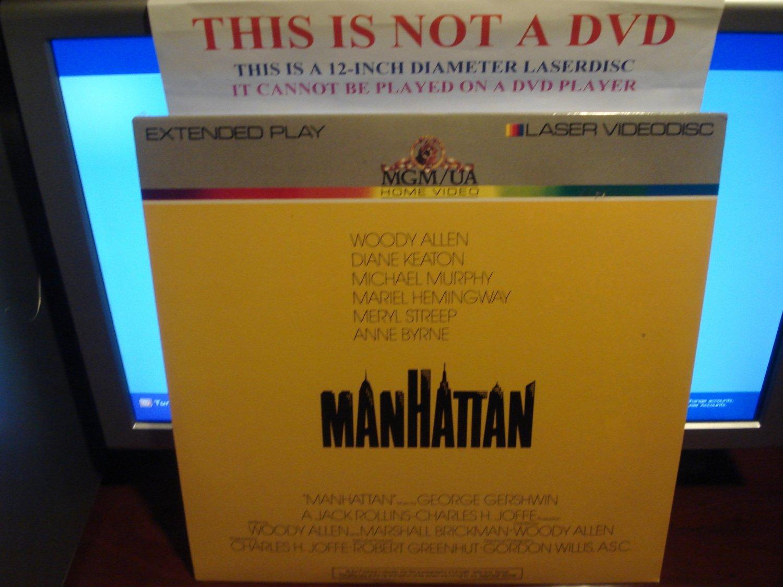 Laserdisc MANHATTAN (1979) Woody Allen Diane Keaton Lot#4 LTBX SEALED UNOPENED B&W LD