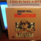 Laserdisc MacARTHUR (1977) Gregory Peck As General Douglas Lot#2 FS