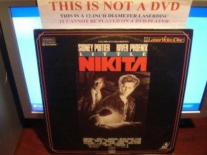 Laserdisc LITTLE NIKITA 1988 Sidney Poitier Lot#2 FS LD Movie [5500]