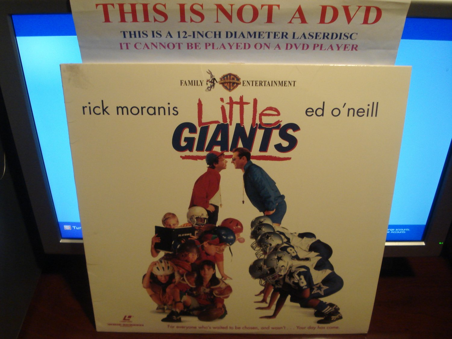 Laserdisc LITTLE GIANTS 1994 Rick Moranis LTBX LD Movie [16200]