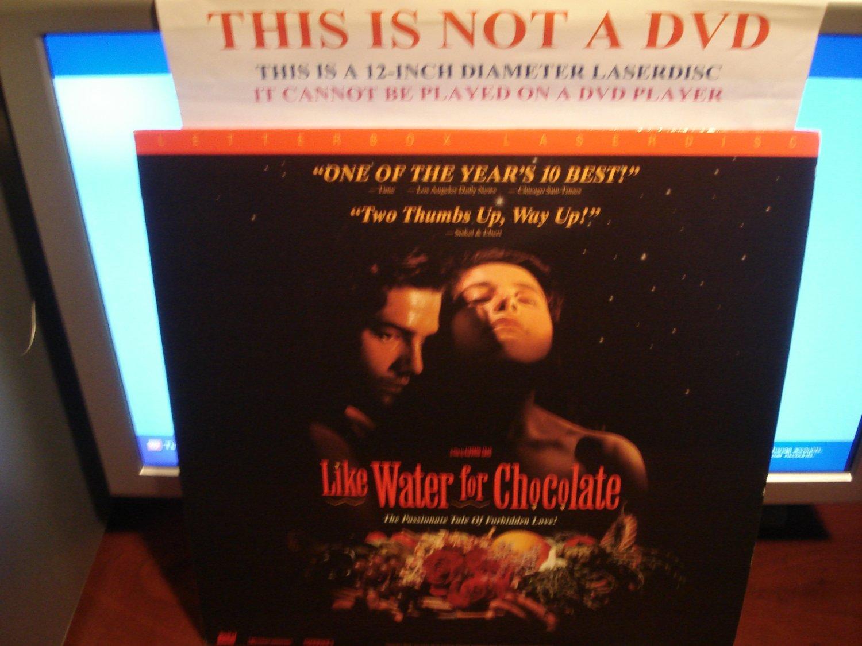 Laserdisc LIKE WATER FOR CHOCOLATE 1993 Marco Leonardi Spanish w/English SubT LD Movie [2111AS]