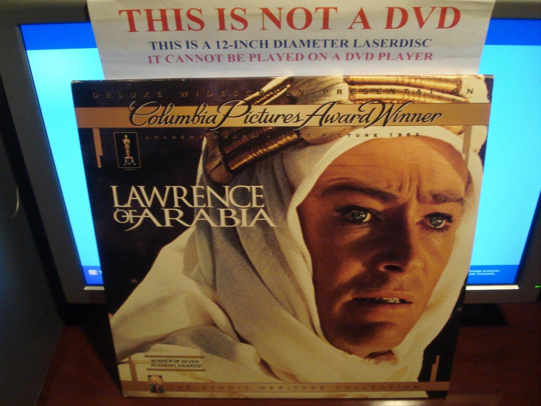 Laserdisc LAWRENCE OF ARABIA (1962) Peter O'Toole Studio Heritage DLX LTBX LD Movie [79626]