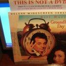 Laserdisc GROUNDHOG DAY 1993 Bill Murray Lot#9 DLX LTBX LD Movie [52296]