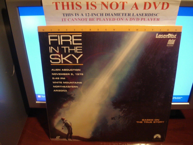 Laserdisc FIRE IN THE SKY 1993 DB Sweeney Robert Patrick LTBX LD Movie [LV32827-WS]