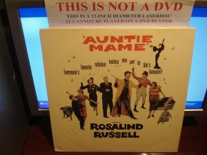 Laserdisc AUNTIE MAME (1958) Rosalind Russell Lot#4 LTBX Classic LD Movie [ML105544]