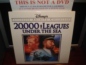 LD Disney 20,000 LEAGUES UNDER THE SEA (1954) Lot#6 EAC LTBX Walt Laserdisc Classics Movie [1587CS]