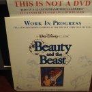 LD Disney BEAUTY AND THE BEAST: WORK IN PROGRESS 1990 Lot#17 CAV LTBX Laserdisc Movie [1591CS]