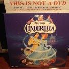 LD Disney CINDERELLA (1950) Lot#6 FS CLV Walt's Masterpiece Laserdisc Movie [5265 AS]