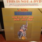 LD Disney HOW THE BEST WAS WON: 1933-1960 Cartoon Classic Limited Edition Laserdisc [159 AS]