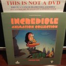 LD Animation INCREDIBLE ANIMATION COLLECTION: VOLUME ONE 1991 Canada Film Laserdisc [LVD9106]