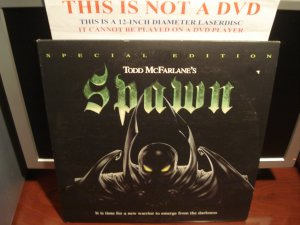 LD Animation SPAWN Todd McFarlane 1997 Lot#2 Special Edition HBO Animated Laserdisc Movie [LD91425]