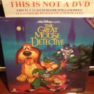 LD Disney THE GREAT MOUSE DETECTIVE 1986 Vincent Price Lot#4 CAV Walt Laserdisc Movie [1360 AS]