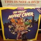 LD Animation THE GREAT MUPPET CAPER 1981 Jim Henson Kermit Miss Piggy Laserdisc Video [1603 AS]