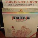 LD Animation THE SOLDIER'S TALE 1984 Igor Stravinsky Lot#2 Blechman Film Laserdisc Video [ML100376]